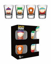 South Park Officially Licenced 4 Shot Glass Set BRAND NEW in Gift Box LAST ONES