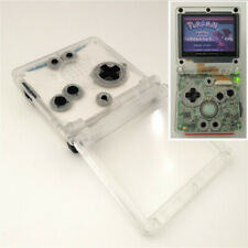 GBA SP Transparent White Shell Housing Case For Nintendo Game Boy Advance SP