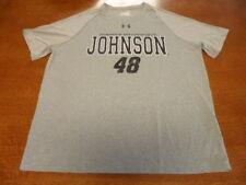 Under Armour Heat Gear XL NASCAR Hendrick Motorsports #48 Johnson Gray XL
