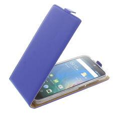 Custodia Per Acer Liquid Z630 Custodia Cellulare Modello Flip Custodia Blu