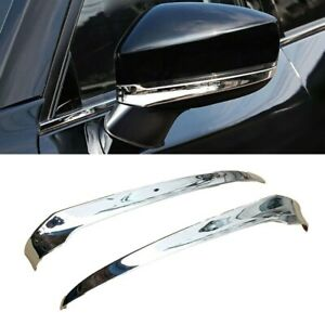 Chrome Side Rearview Mirror Strip Trim Cover Molding For-Mazda CX-5 KF 2017-21
