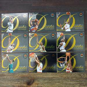 1993-94 Skybox - Dynamic Dunks - Complete Set - Michael Jordan Mourning Kemp