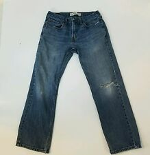 Levi's 559 Relaxed Straight Cut Jeans 32x32 men's Distressed Destroyed