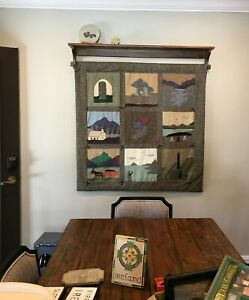 Quilt Rack Wall Hanging
