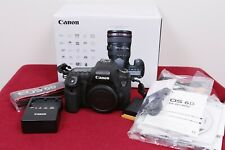 Canon EOS 6D 20.2MP Digital SLR Camera - Black (Body Only) Lightly Used, EXC !!