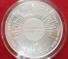 Nashville, TN / Eclipse Across America .999 silver medal - #4 of only 10 minted