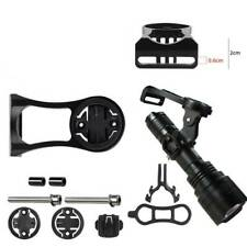 Bicycle Aluminum GPS Computer Holder Fit For GoPro Camera Light Mount Extender