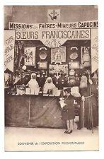 soeurs franciscaines de calais ,missions des frères-mineurs capucins