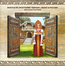 RUSSLAND RUSSIA 2012 EUROPA CEPT ISSUE VISIT RUSSIA FOLDER FDC BOOKLET FIRST DAY