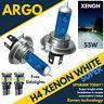 H4 60/55w Xenon Hid Super White Side Lights Headlight Lamps Light 472 Bulbs 12v