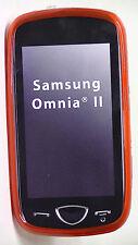 Samsung Omnia II Silicone Cover