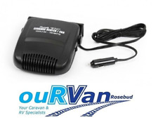 Camec Mini Fan Heater 12V Temperature Control RV Camping Caravan 000625