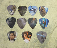 Star Wars SINGLE SIDED PICTURE GUITAR PICKS  Set of 11