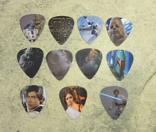 Set of 11 Star Wars SINGLE SIDED PICTURE GUITAR PICKS *READY TO SHIP OUT TODAY*