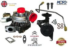 TURBOCHARGER FITS FOR PEUGEOT 206 207 307 308 407 1007 PARTNER 1.6 HDI 110 PS