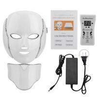 Masque de beauté masque  7 couleurs LED pour bureau pour  maison