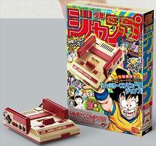 Nintendo Classic Mini Famicom Nes Console Weekly Shonen JUMP 50th Gold ver. Used