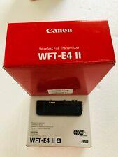Canon WFT-E4-IIA WFT-E4 IIA Wireless File Transmitter for Canon 5D Mark II Cam