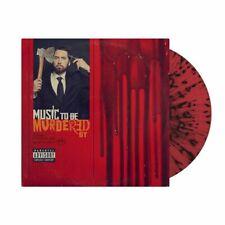 Eminem Music To Be Murdered by LIMITED RED BLACK SPLATTER Vinyl Album SEALED
