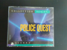 Police Quest Collection Series (PC, 1997) with manual
