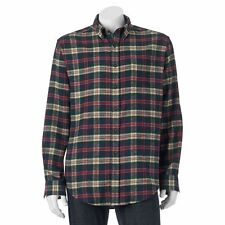 Big & Tall Classic Active Plaid Flannel Shirt Mens Size 3XLT Tall NWT