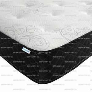 BRAND NEW COOL TOUCH MEMORY FOAM AND OPEN COIL HYPO ALLERGENIC MATTRESS