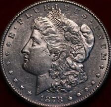 Uncirculated 1878-S San Francisco Mint Silver Morgan Dollar
