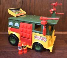 Party Wagon Vintage TMNT Ninja Turtles Vehicle Playmates Van 1988 100% Complete