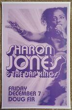 SHARON JONES & DAP KINGS 2007 Gig POSTER Portland Oregon Concert