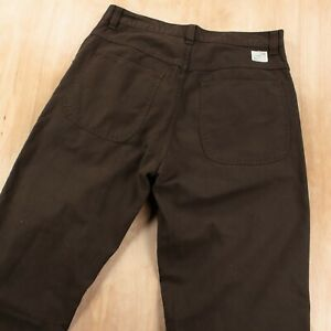 vtg GAP Worker Jean wide leg twill pants 33x30 tag straight leg skate 90s y2k