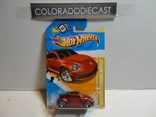 2012 Hot Wheels #24 Red 2012 Volkswagen Beetle w/MC5 Spoke Wheels