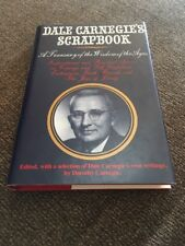 Dale Carnegie's Scrapbook edited by Dorothy Carnegie HB/DJ SIGNED by Class 1994