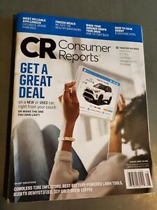 Consumer Reports August 2020 Magazine - Get a Great Deal Issue New or Used Car