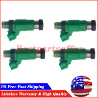 INP783 4G1408 67266 FJ657 For 2001-2002-2003 Mazda Protege 2.0L 4X Fuel Injector