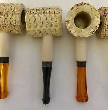 5 X Original Corn Cob Pipe NEW