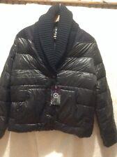 NWT AMERICAN Eagle Black women's  down puffer Winter JACKET  Size M