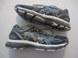 NEW Asics Gel-Nimbus 19 Carbon T700N 9701 men's running shoe sneaker grey 8 US