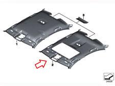 BMW 5' Series F10 Alcantara Roof Head Lining With Sunroof Hole - Seiden Grau