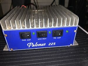 Palomar 225 Blue Face 10/11Meter Linear Ampliflier SSB Biased *New HG SD1446*