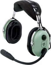 DAVID CLARK H10-13.4 HEADSET GA/Dual Plugs  p/n 40411G-01 AUTHORIZED DEALER