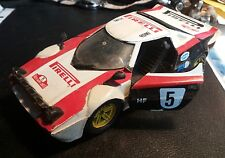 POLISTIL S-71 LANCIA STRATOS RALLY BLACK  in ordine  conservata