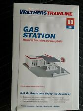 HO SCALE WALTHERS TRAINLINE ~931-920~ GAS STATION BUILDING Kit ~ NEW IN BOX