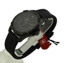 UVP 326,00€ Wenger Herren Uhr Chronograph Squadron GMT Black 2077074