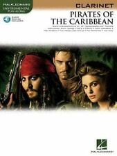 Pirates Of The Caribbean For Clarinet Instrumental Play- Along Bk/Audio Online
