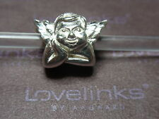 ** Genuine Lovelinks * SWEET ANGEL Silver Charm **