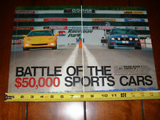 2006 ROUSH MUSTANG STAGE 3 vs. 2005 CORVETTE Z51 - ORIGINAL ARTICLE