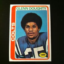 1978 Topps GLENN DOUGHTY #208  Baltimore Colts  Michigan Wolverines