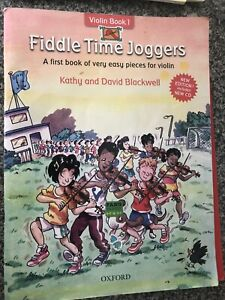 SHEET MUSIC FIDDLE TIME JOGGERS VOL 1 EASY PIECES FOR FOR VIOLIN + CD 2005