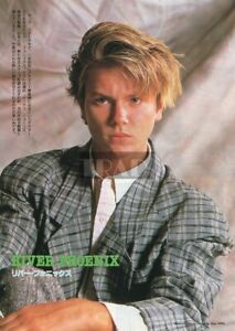 RIVER PHOENIX 1989 Japan Picture Clipping 8x11 pj/u