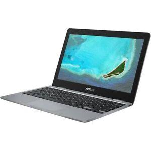 *12hr Sale* ASUS C223 11.6 Inch Celeron 4GB 32GB Chromebook - Grey